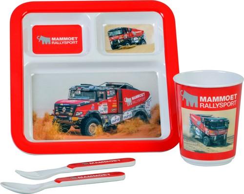 Mammoet Rallysport kinder servies, 4-delig