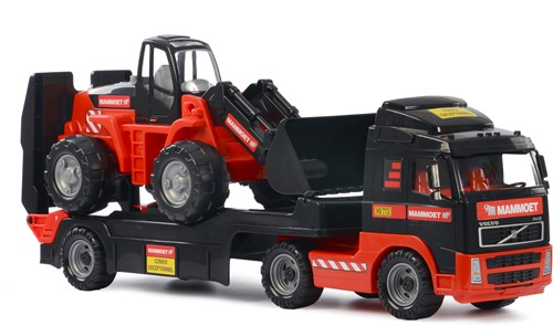 Mammoet Volvo Truck with loader