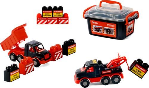 Mammoet Mini Vrachtwagen met Blokken