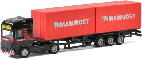 Mammoet Vrachtwagen met Containers