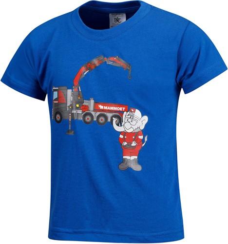 Mambo T-shirt Truck Blue
